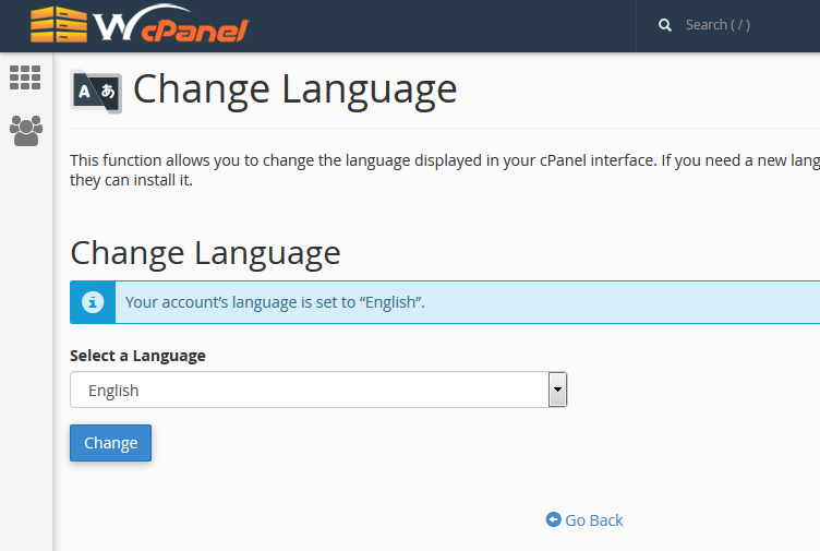 5: Set up cPanel preferences - Knowledgebase Article
